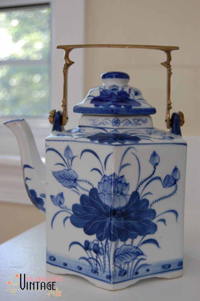 Blue & White Teapot Kettle