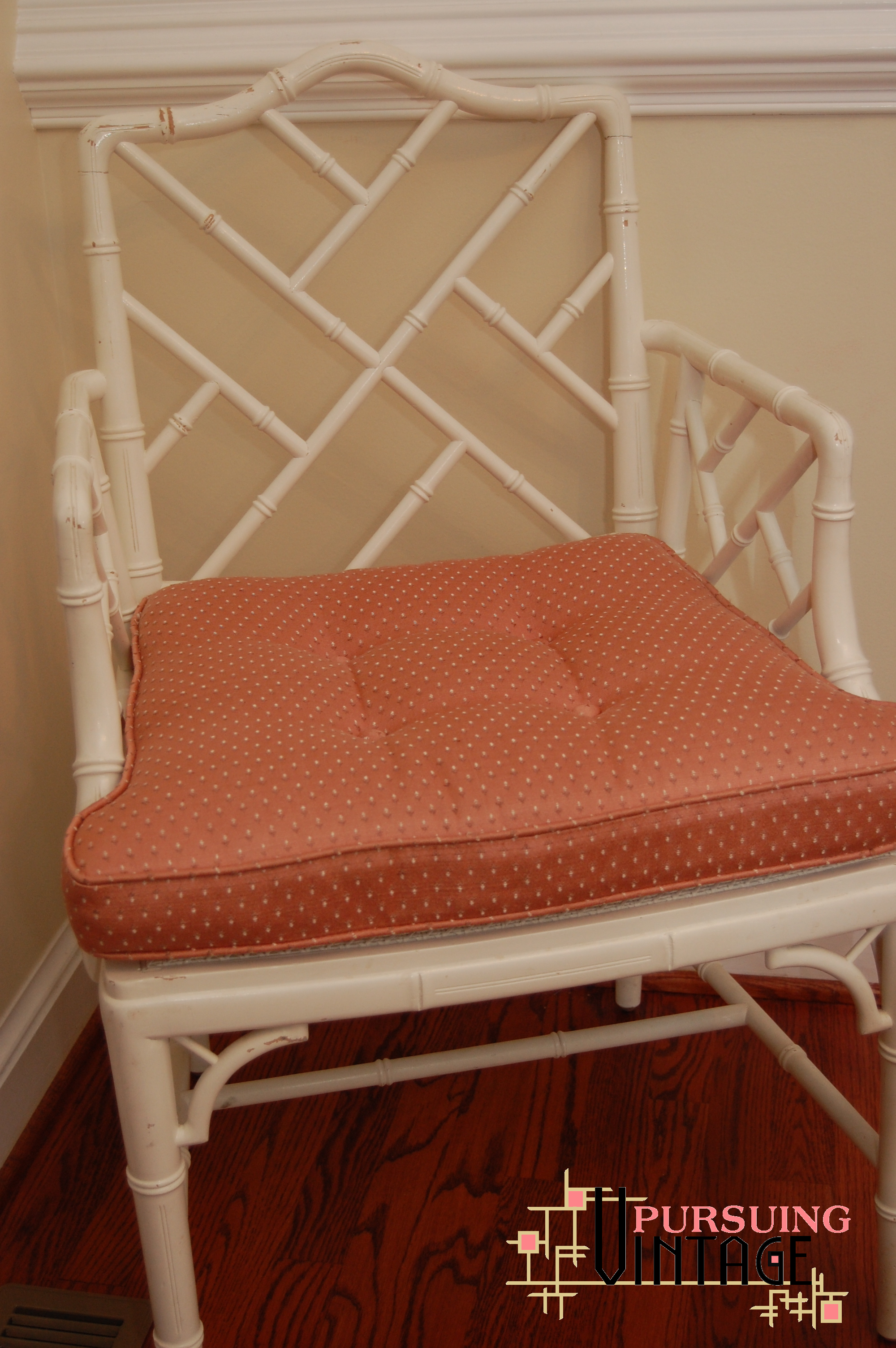another project — chinese chippendale chair