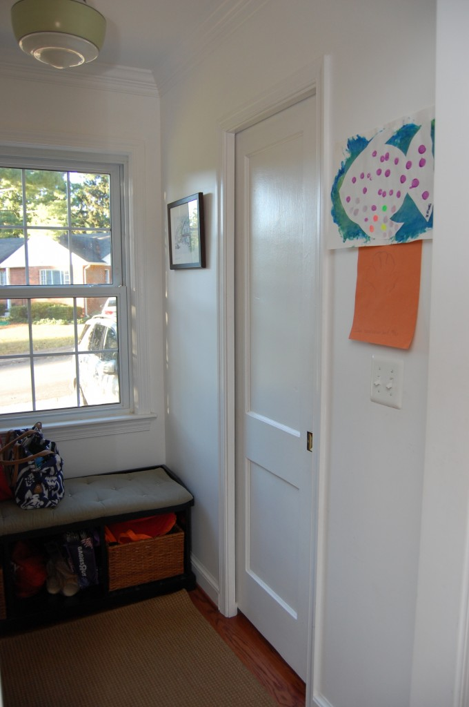 Mudroom - Right wall