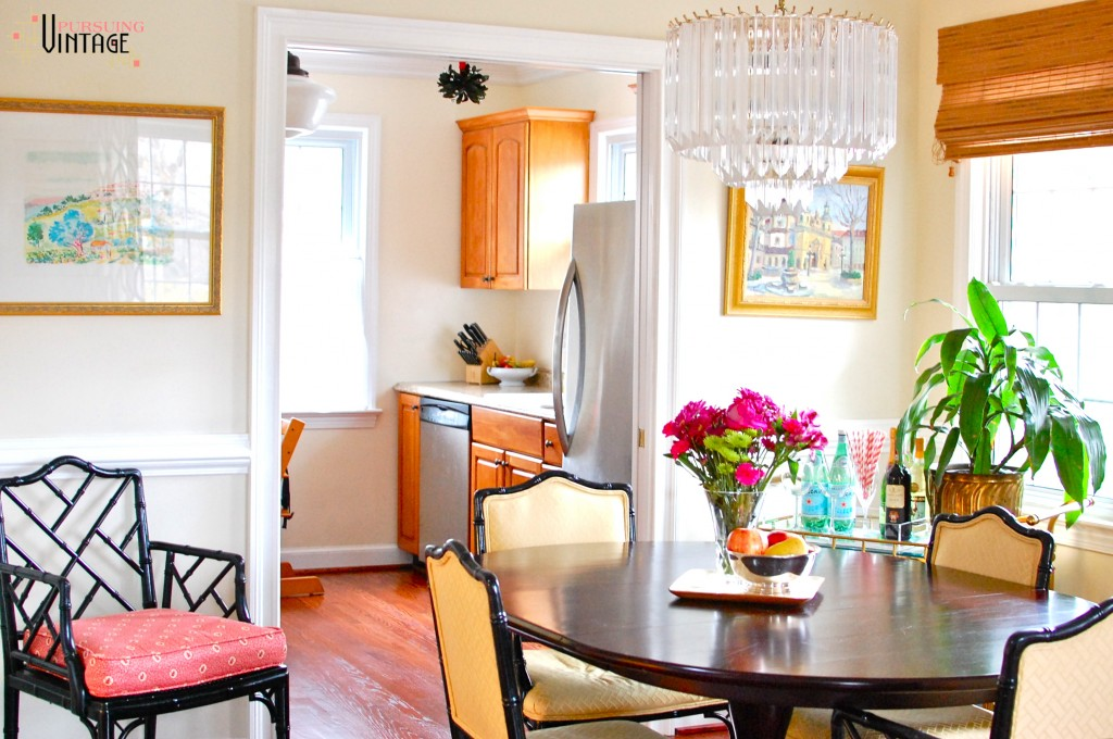 Pursuing Vintage Holiday Home Tour : Dining & Kitchen