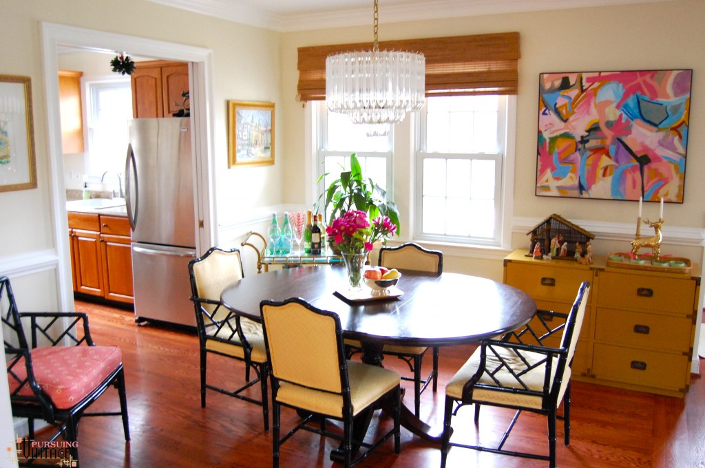 Pursuing Vintage Holiday Home Tour : Dining Room