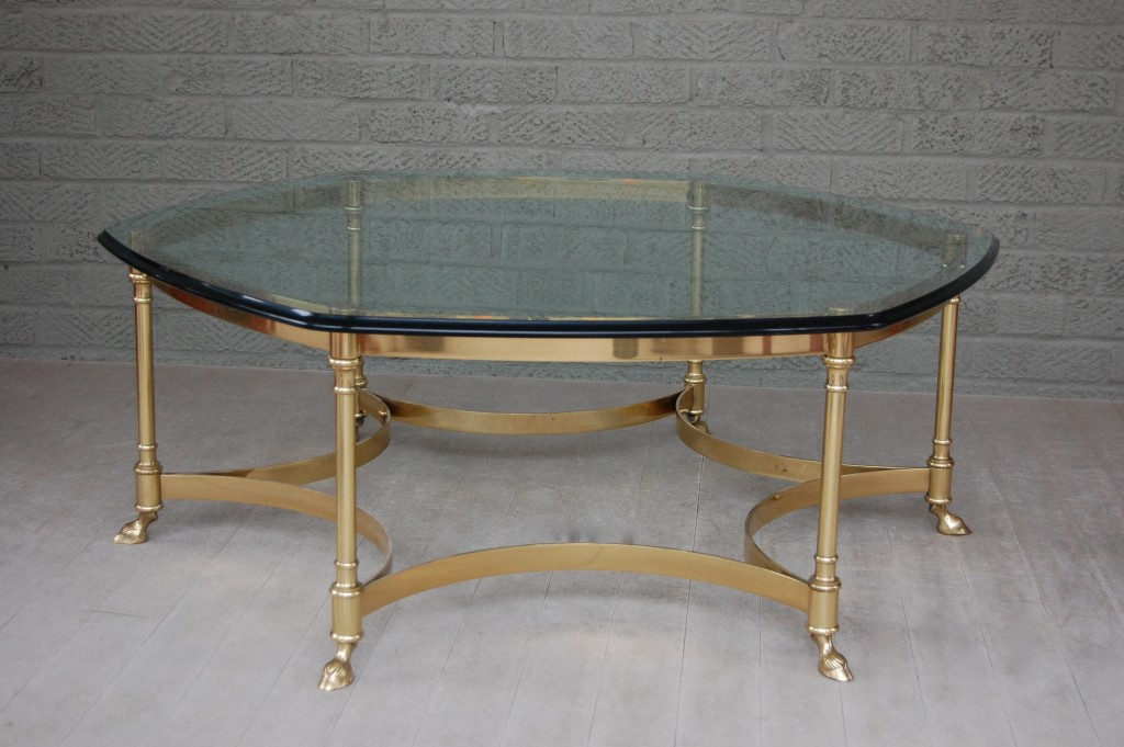 La Barge Coffee Table with Rams Feet / Pursuing Vintage