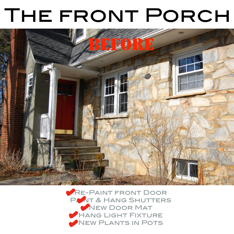 The Front Door : Pursuing Vintage : ORC : Punch List