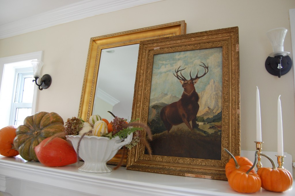 Fall Mantel / Pursuing Vintage