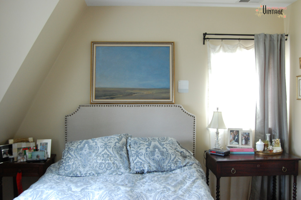 Bedroom w: Landscape : Pursuing Vintage