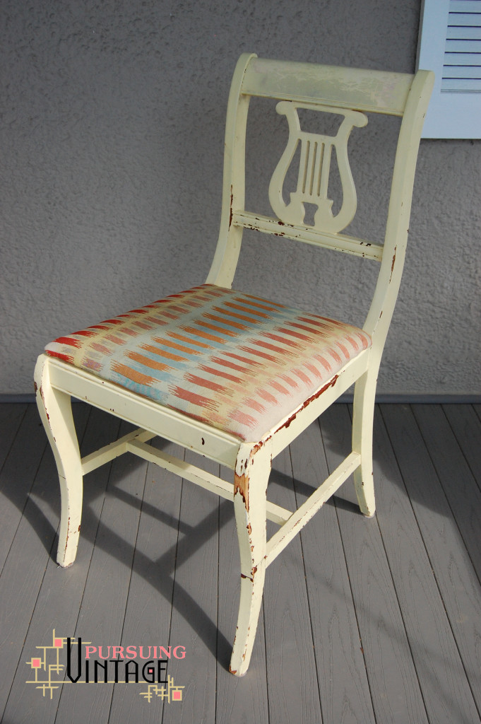 Velvet Finishes Chair 2 : Pursuing Vintage