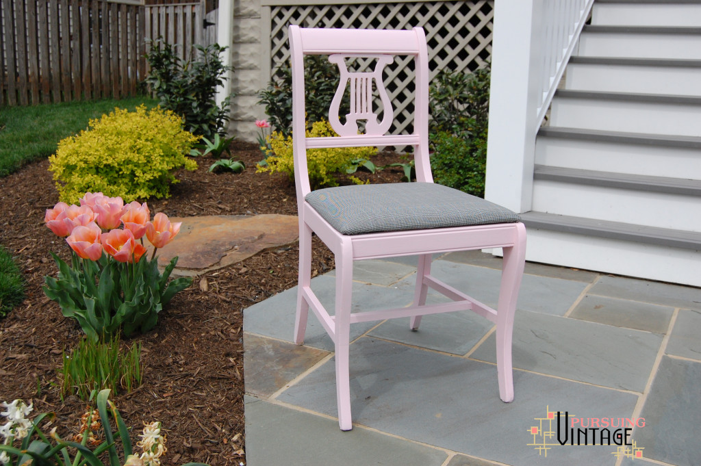 Velvet Finishes PInk Chair 8 : Pursuing Vintage